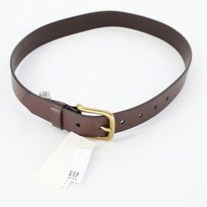 NWT Gap Boys Brown Leather Belt
